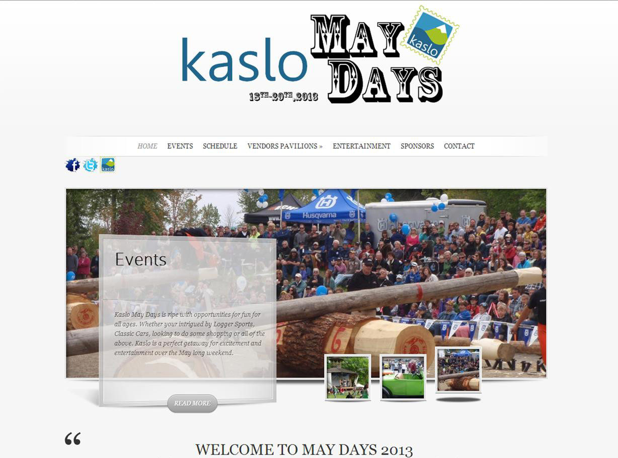 Kaslo May Days
